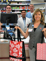 Gift bags from Walgreens will be at the Health Fair in October. undefined
