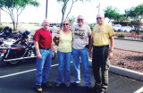 Cruise to Vail, left to right: Steve Lebrecht, Nancy Brodeur, Don Brodeur and Ernie Wolf. undefined