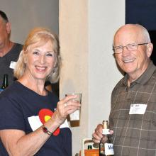 Helga Stone and Bob Prindiville undefined
