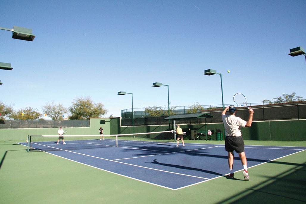 Come out and watch the Tennis Festival October 17 and 18. undefined