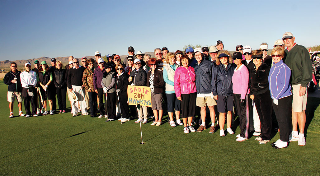 Forty-four golfers participated in this event. undefined