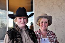 Loretta Johnson and Linda Harvey undefined