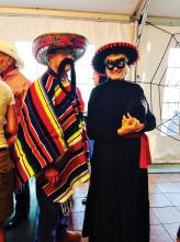 Mexico comes to the Ranch: Bob Johnson and Lorretta Johnson undefined