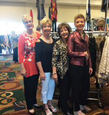 Left to right: Muriel Philster, Colleen Carey, Michele Fredette and Sylvia Durand-Wilder. undefined