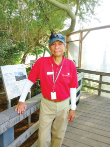 Victor Lim gave an overview of the history and current work at Biosphere 2. undefined