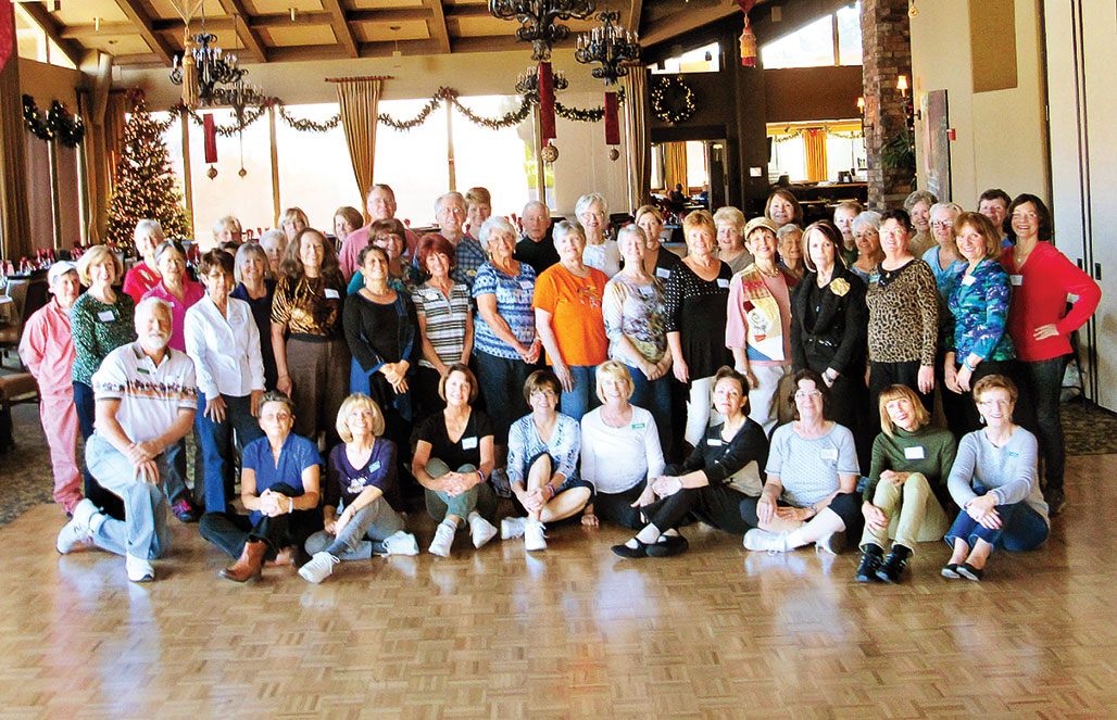 Line dancers came out to have fun on the floor while supporting the animals on December 29 in SaddleBrooke. Can you find the 19 Ranch residents in the group? What a terrific bunch of folks from both communities that attended the dance and gave to help our furry friends. undefined