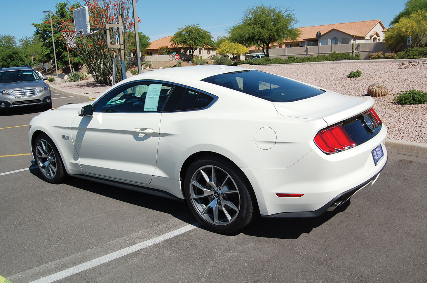 SBCO will raffle off this 2015 Ford Mustang 50th Anniversary Edition.