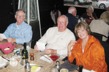 Mark Martin, Jerry Hall and Janice Neal