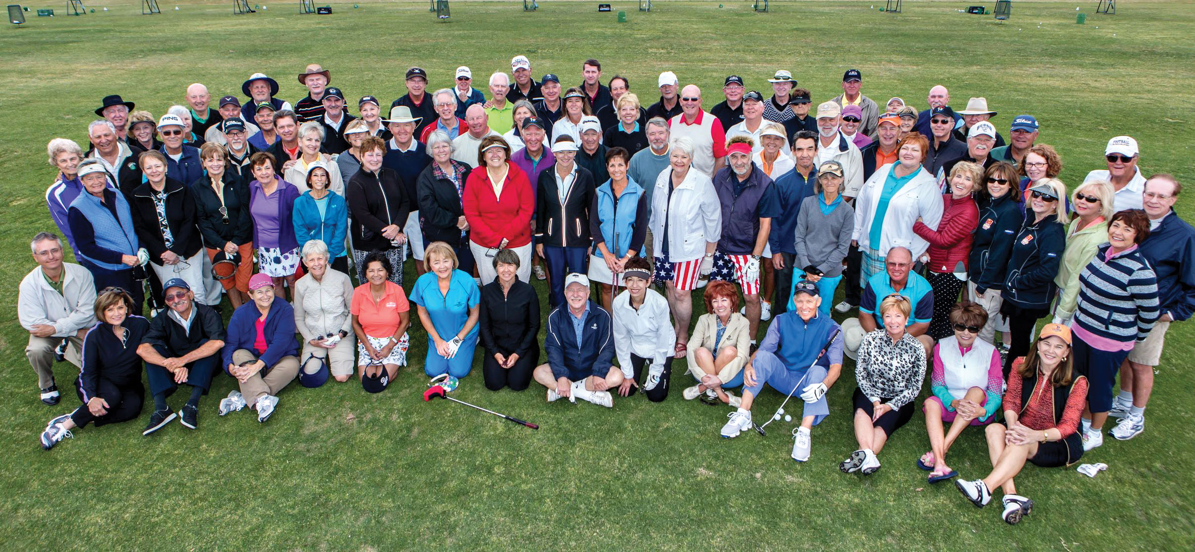 The SBRMGA Community Golf Tournament participants