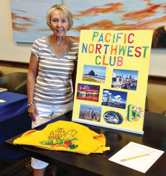 Carol Kramer with the Pacific Northwest Club, a new addition to the SBR clubs