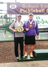 Bob Hills and Paul Frederickson were medal winners.