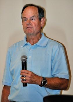Hugh Parker gave insights into weather patterns.