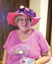 Linda Parker, most putter inspired hat