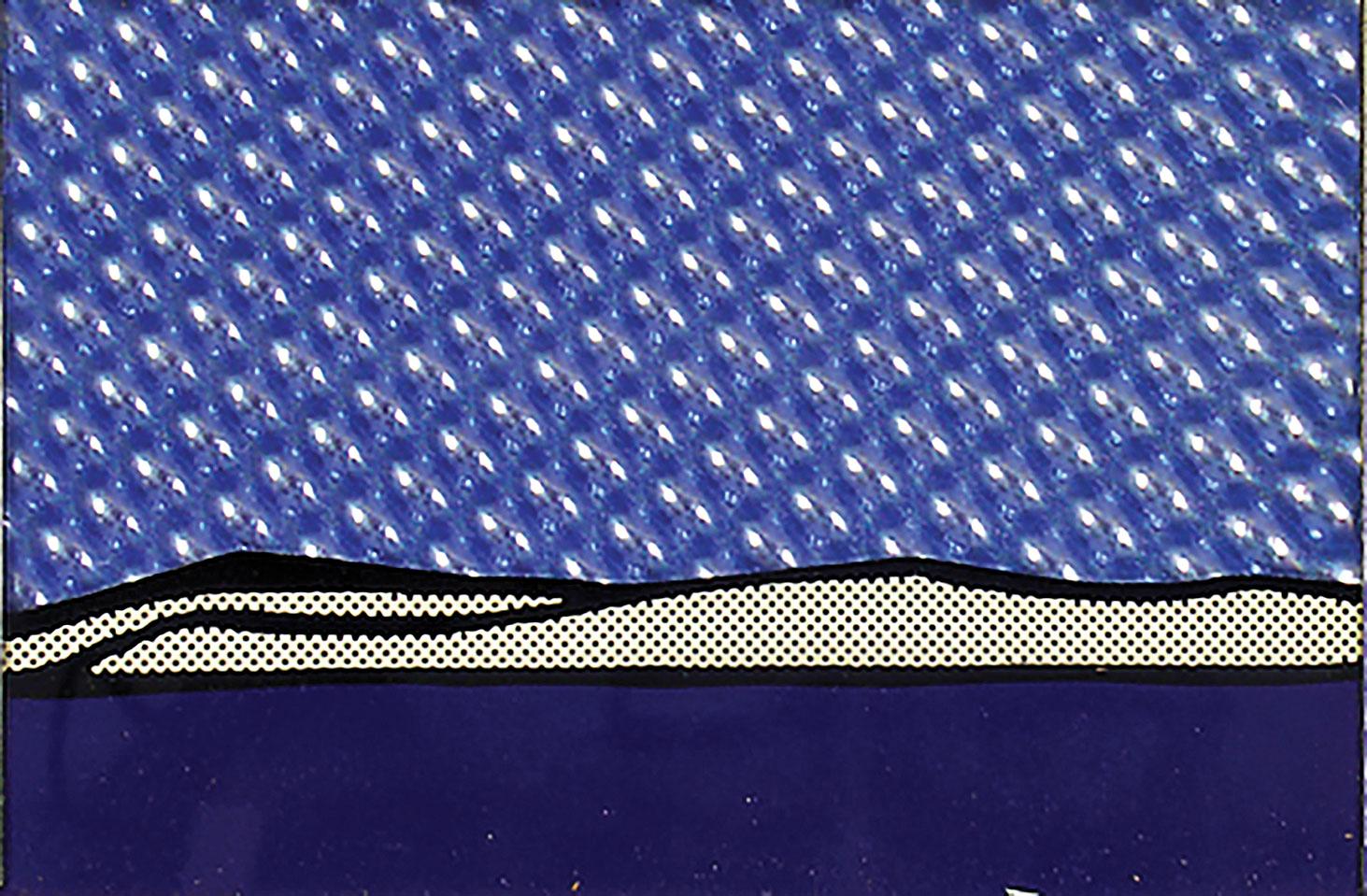 Seascape by Roy Lichtenstein