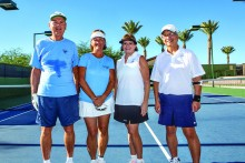 Bill Harvey, Mary Theis, Janice Neal, Mark Wong