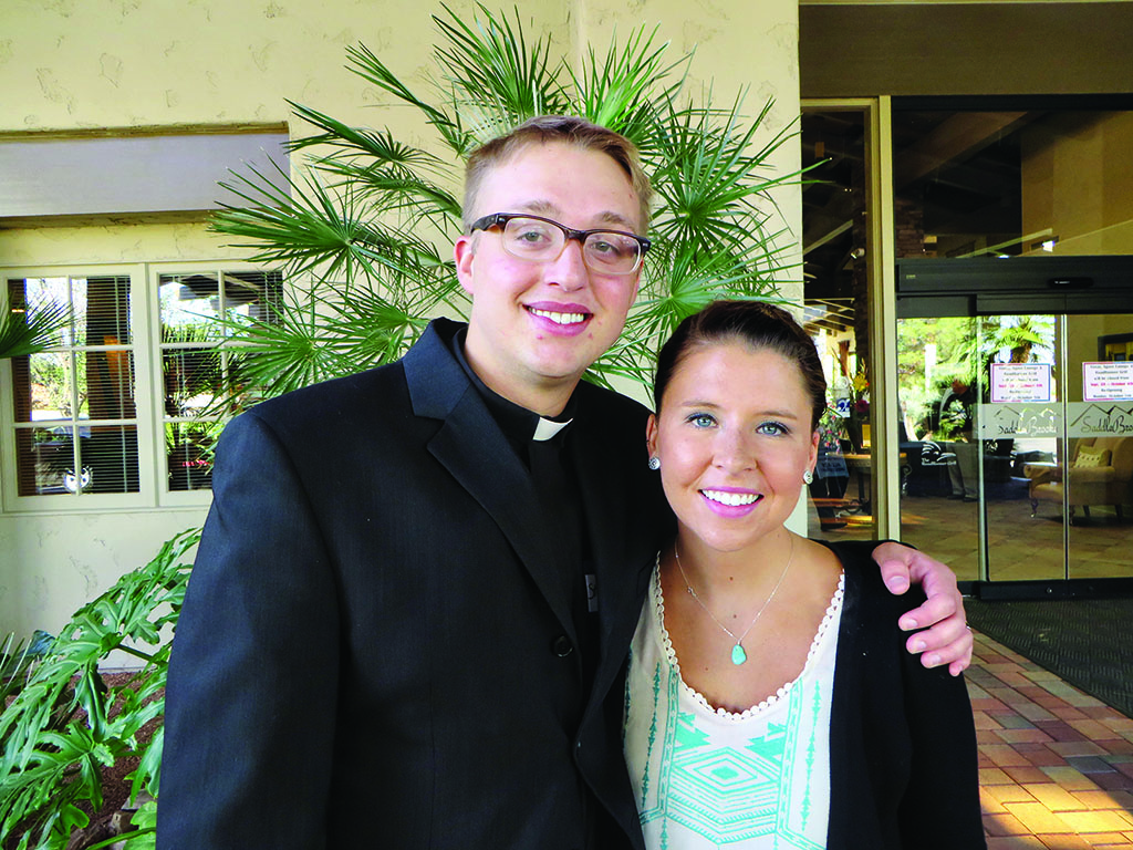 Resurrection Church Intern Pastor Stephen Hilding and his wife Annie