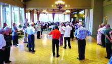 Salsa dance lesson - SB1 Hot August Nights 2015