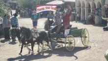 Parade honoring Bob Shelton, a founding entrepreneur of Old Tucson Studios