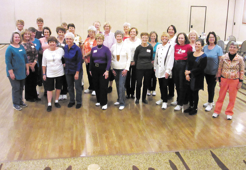 A Line Dance Party held between Christmas and New Year raised the roof with fun and a little leftover cash to donate to Animal Rescue. Fun was had and maybe some surplus fudge calories were burned. Several Ranch residents joined in the fun-play Where's Waldo and see which of your neighbors appears. Continued Happy 2016 to Ranch residents!