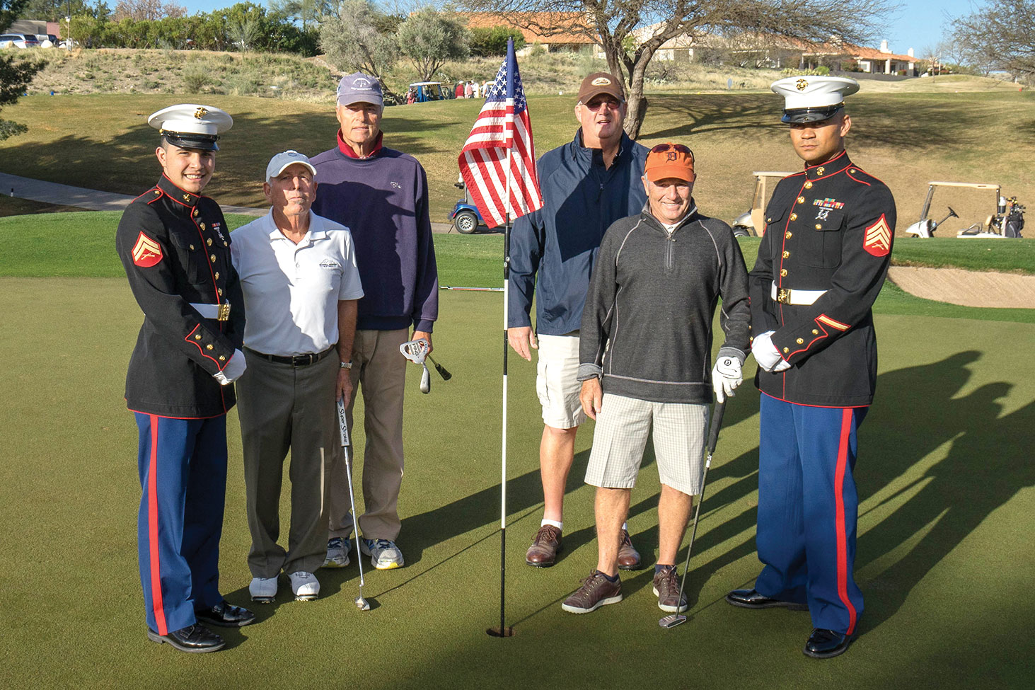 SaddleBrooke Troop Support annual golf tournament