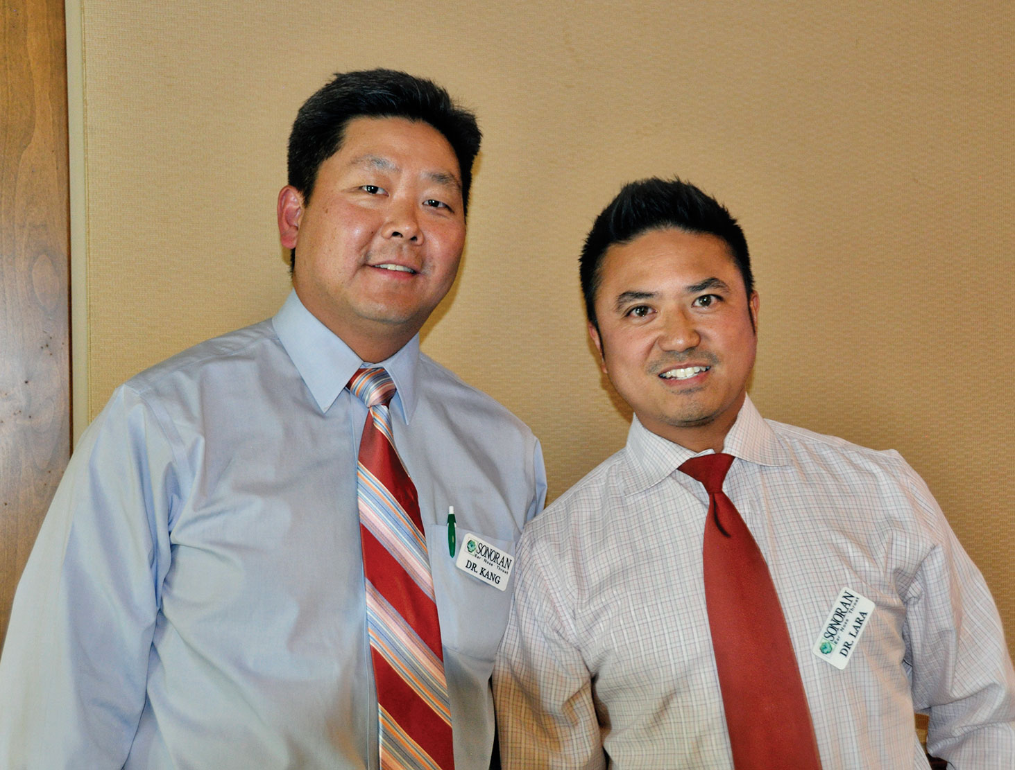 Dr. Kang and Dr. Lara