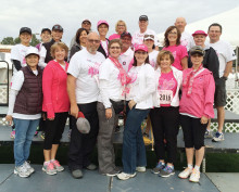SBR Komen for the Cure team