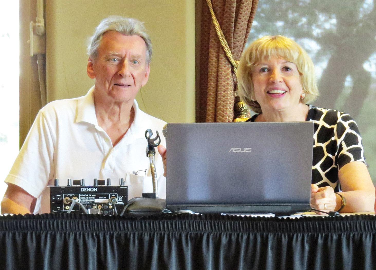 DJs and Latin Dance Instructors Wally and Jeanny Mara