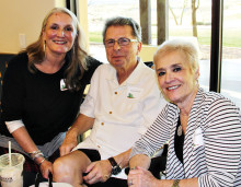 Cheri Utsler, Ted and Nini Falconer