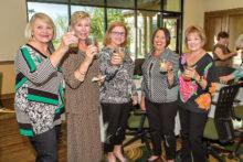 Sandy Schlager, Beena Ordahl, Georgine Hurst, Catherine Wierman and Janice Neal