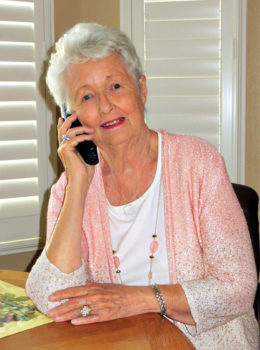 Mary Owen, Senior Village member and volunteer