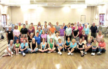 Forty-seven dancers attended the April Line Dance Party that was videoed and can now be seen on YouTube. Check for your Ranch neighbors here and on YouTube. Note: We're not perfect, and we're old enough not to care!