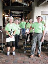 Health Fair volunteers