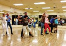 Partner Western dancers