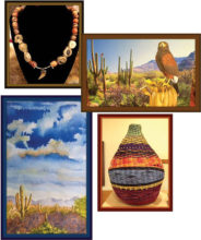 Some of the items at the SaddleBrooke Artisan Fair