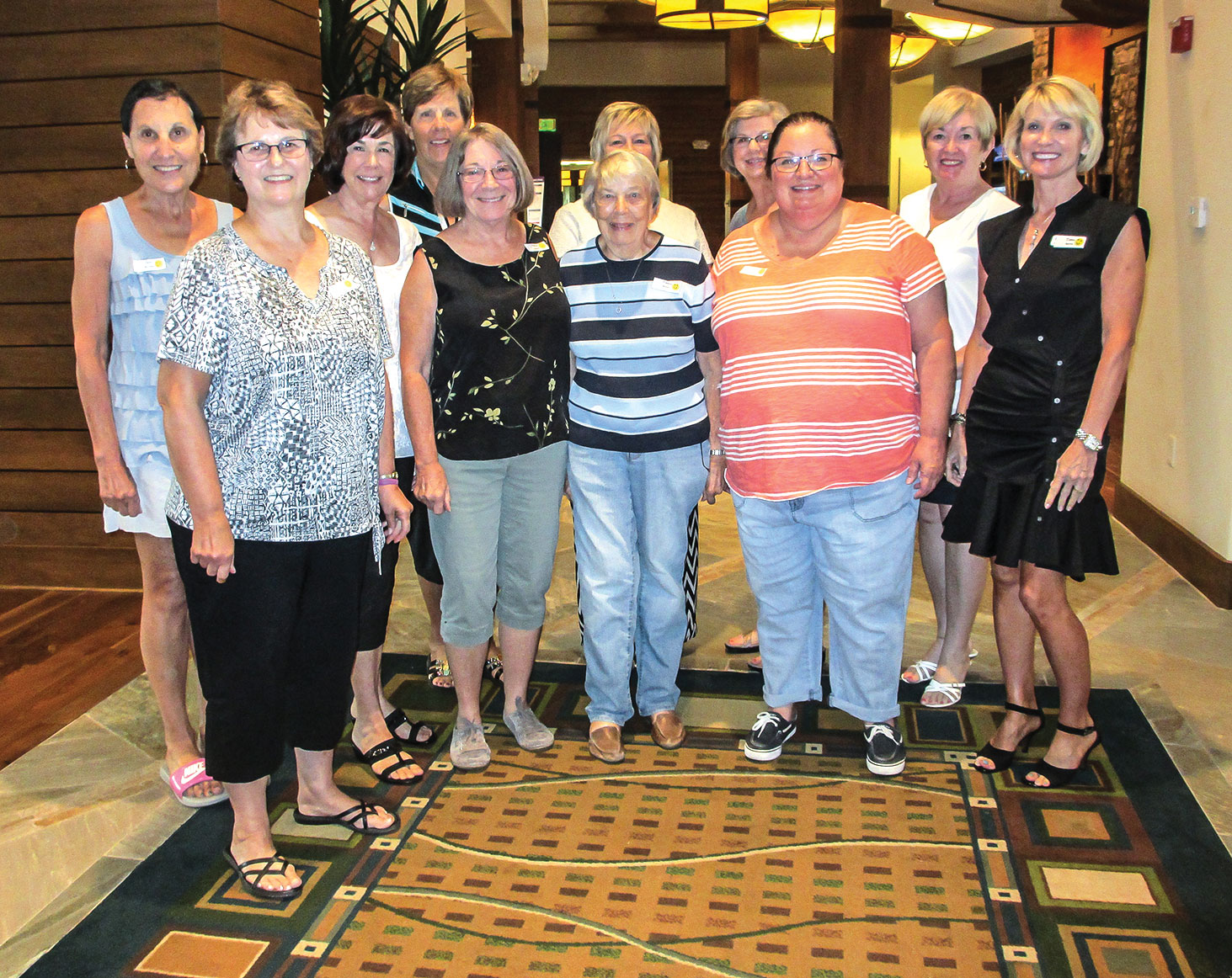 New members of the SBR Women's Club