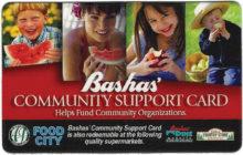 Bashas' Community Support Card
