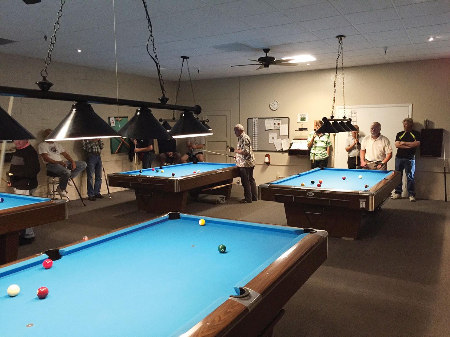 Green Valley Billiard Room