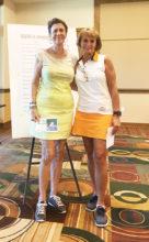 Stephanie Gaskil and Michelle Carter