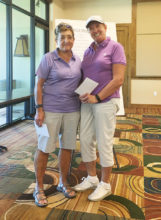 Sue Wells and Jeanne Hansel