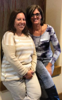 January SBRWC new members, left to right: Terri Steinberg and Denise Sandoval