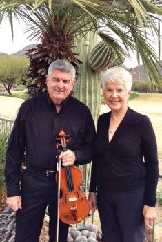 James Black, violin, and Patricia Kaltenberger, piano