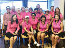 Front row: Brenda Armenia, Nancy Willcoxon, Linda Sherfy, Deb Shelton; second row: Pat Kanitz, Marlyce Mycka, Mary Hoover; third row: Melanie Timberlake, Bonnie Stark, Nancy Galant, Chris Larson, Carol Mihal, Lee Rinke, Janice Mihora; back row: Jo Helms, Trish Kelly