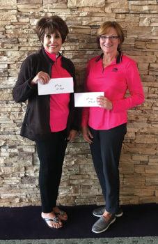 Mindy Hawkins and Jeanne Osterlund