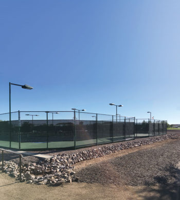 The new courts