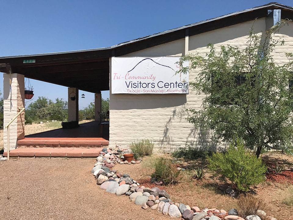 Learn what the area has to offer at the Oracle Visitor's Center