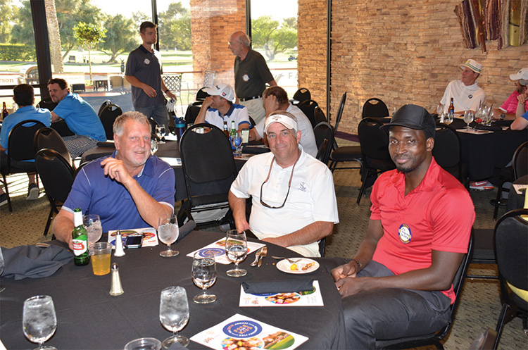 Moe Tangara was one of the celebrities at the 2018 Fore For Kids Charity Golf Tournament.