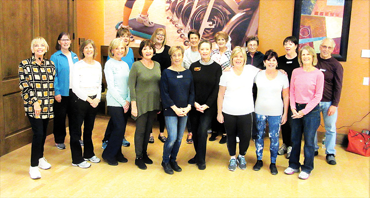 Your happy neighbors are tearing up the dance floor on Wednesday and Saturday Line Dancing in classes provided by Rebecca Magdanz for over six years at the Ranch.