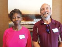 Tina Hendrix Stewart and John Soares