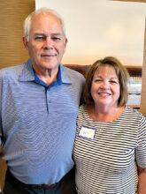 Doug and Mary Balzer—in unit 46B on Arbor Basin Road.