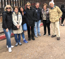 Members of The Shalom Club visit Nogales on a tour sponsored by the Jewish Federation of Southern Tucson; photo by Larry Schweitzer.